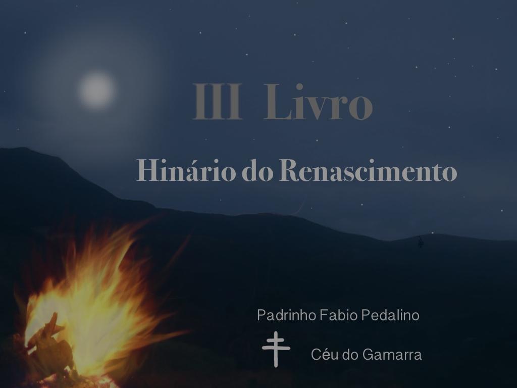 III Livro – Hinário do Renascimento